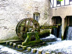 old water mill II by Satanoy