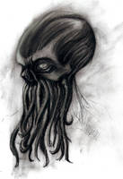 Cthulhu head by Satanoy