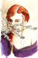 Redhead girl by Satanoy