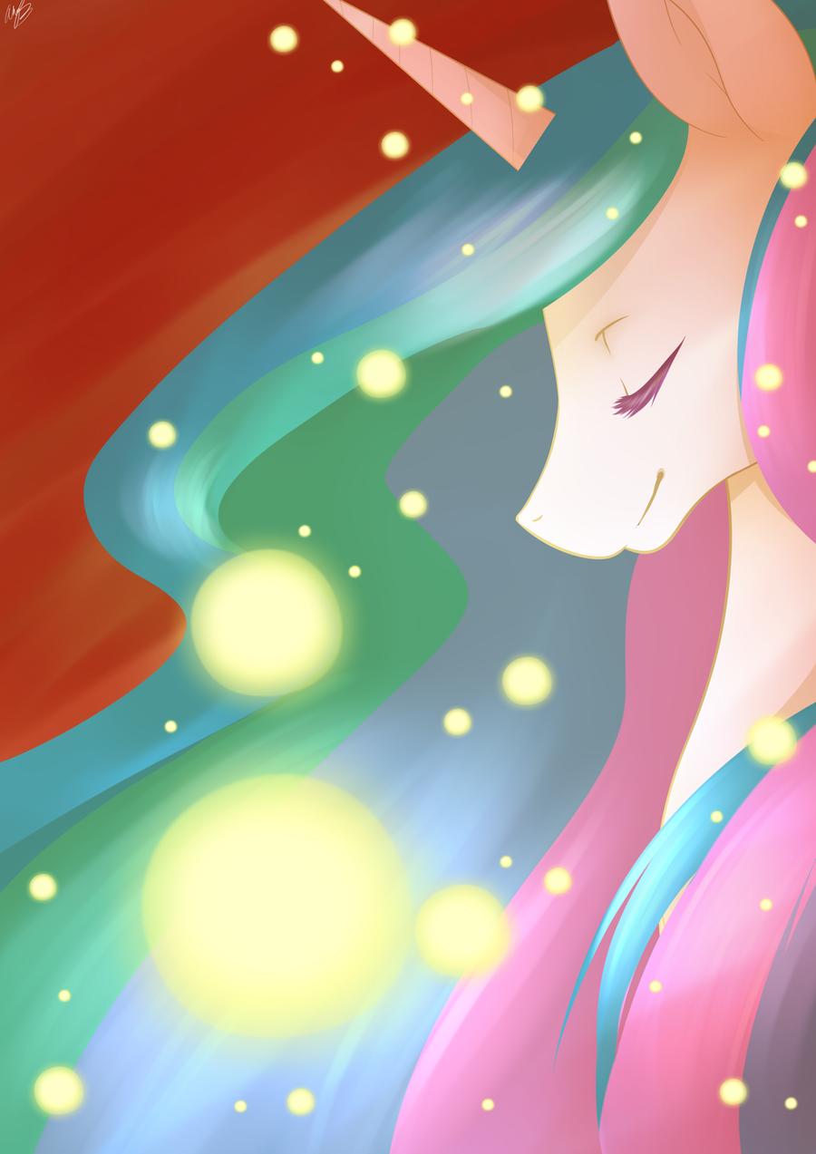 Celestia by MylittleSheepy