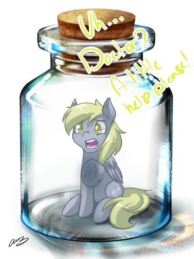 Fresh Bottled Derpy by MylittleSheepy