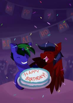 Comm: Happy Birthday