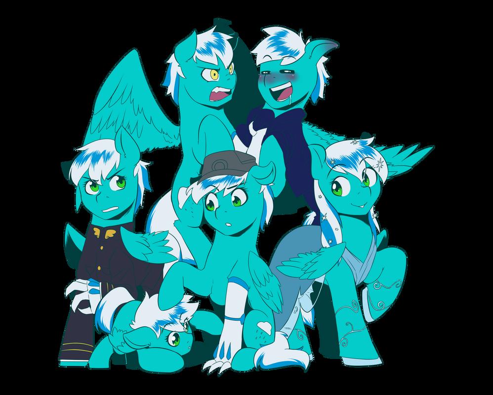 Comm: Personalities by MylittleSheepy