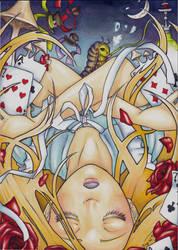 Alice in Wonderland (Absolem in Wonderland) by Listenes