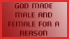 There's a reason not only one gender exists by stefanbauwens