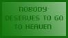 Stamp - Nobody deserves Heaven by stefanbauwens
