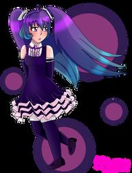 Butterfly Miku by Fierce-Whale