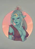 Zijanda troll druid bust by ipheli