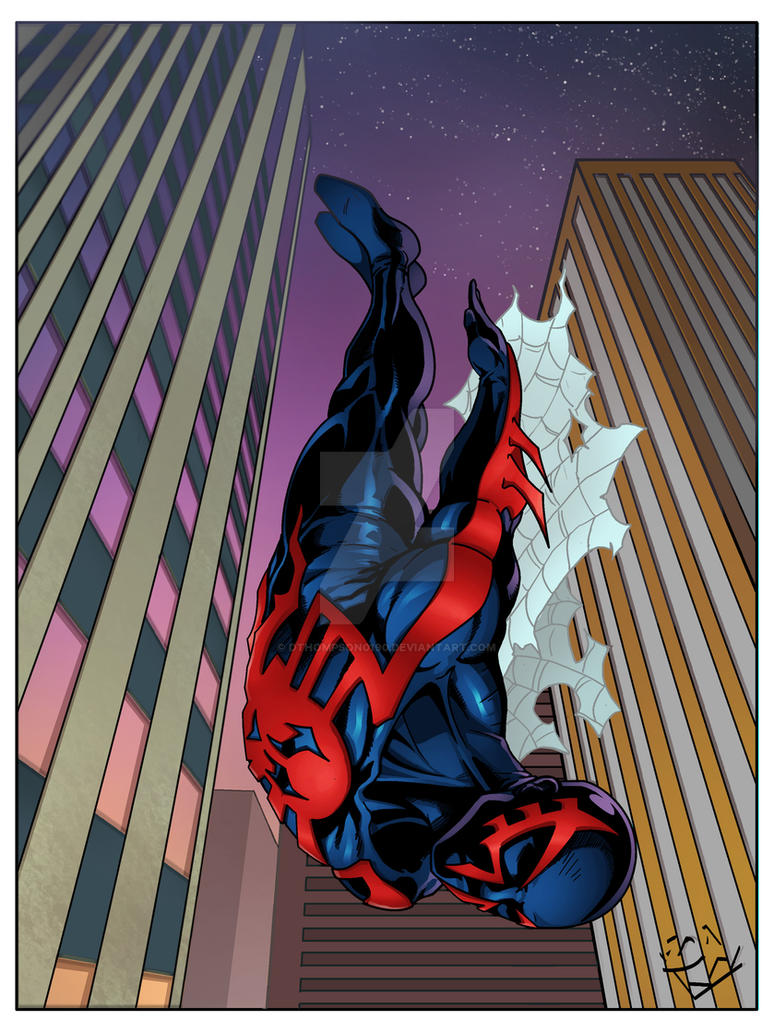 Spiderman 2099 by DanBoy0812
