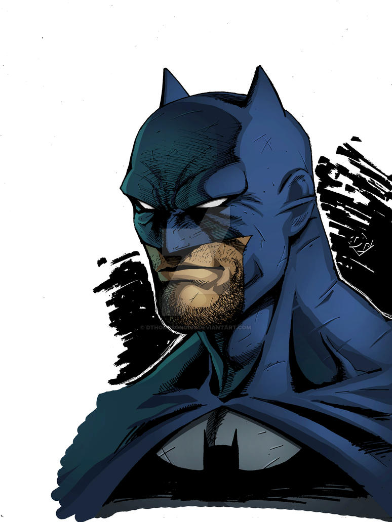Batman Headshot by DanBoy0812