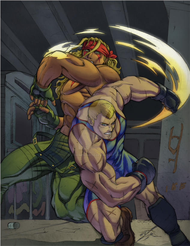 Alex vs Abel by DanBoy0812