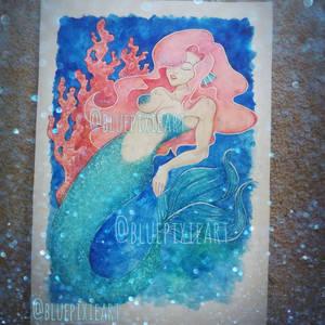 Watercolour Mermaid