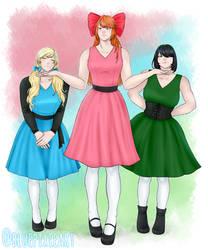 Power Puff Girls Cosplay
