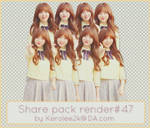 Share pack render #47 Kei Lovelyz