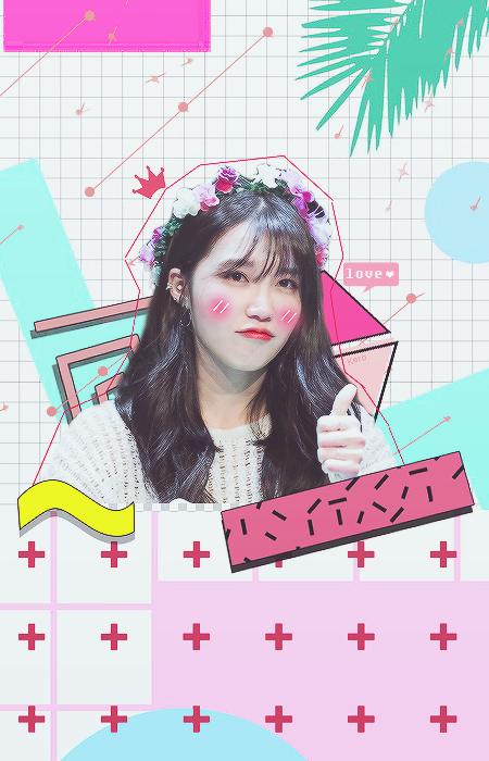 Lockscreen Eunji by KeroLee2k