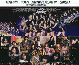 Happy 10th anniversary SNSD by KeroLee2k