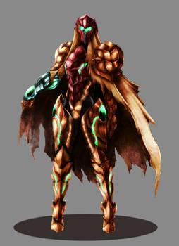 Samus Aran Dragon Suit