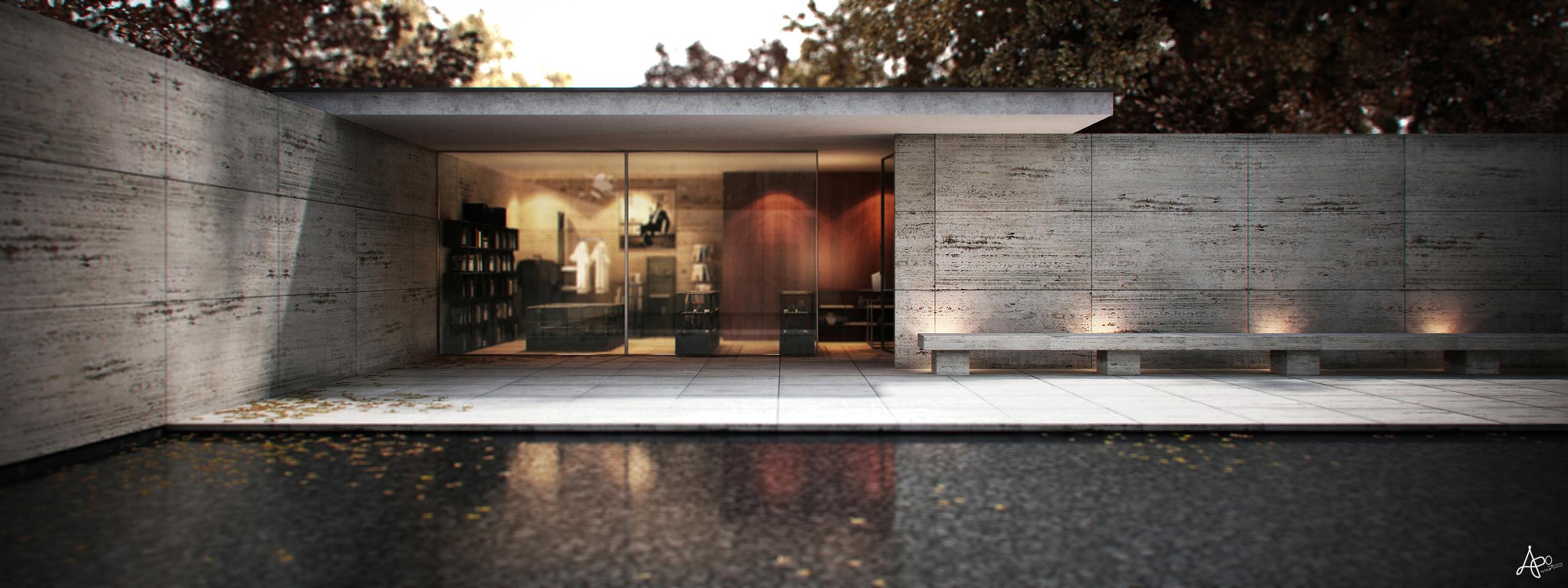 architect mies van der rohe i by apometru on deviantart. Black Bedroom Furniture Sets. Home Design Ideas