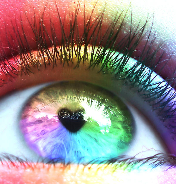 i see rainbow by Mazki Beauty is Truly in the Eyes of the Beholder