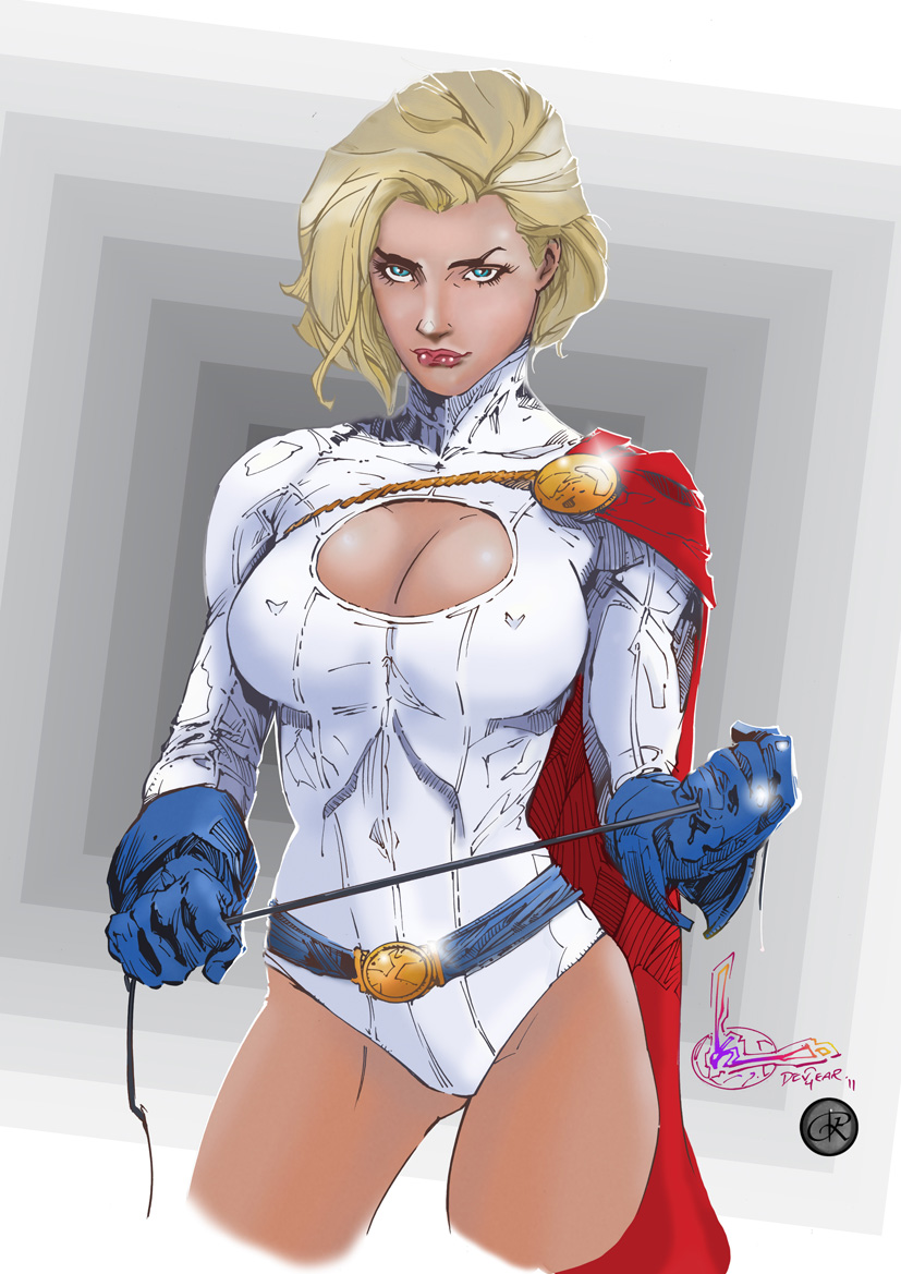 Power Girl by riazkhan