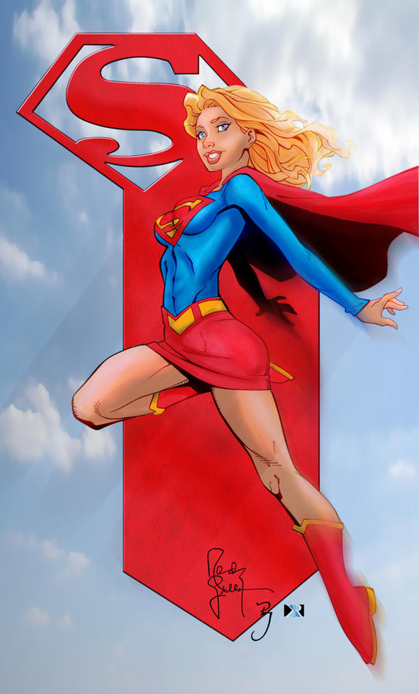 SUPERGIRL by riazkhan