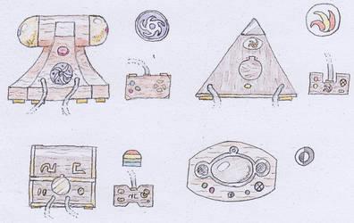 Borgalor: Video game consoles