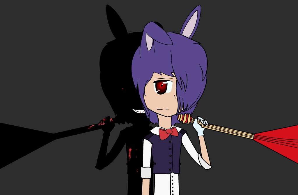 Fnaf Bonnie by lillymagic