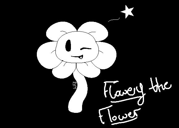 Flowey The Flower ~SpeedPaint~ by lillymagic