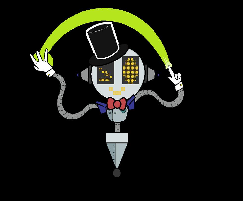 TalkBot (Undertale OC)~speedpaint~ by lillymagic