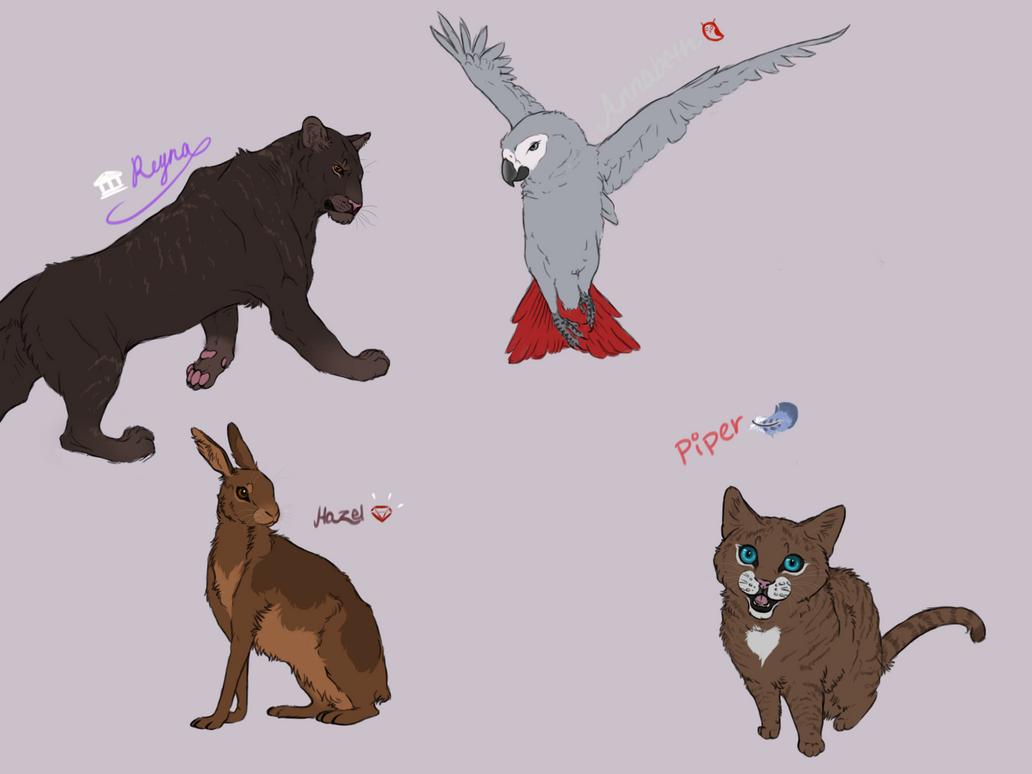 Hoo characters twist gals by blackmagic02 on deviantart for Jackson galaxy cat toys australia