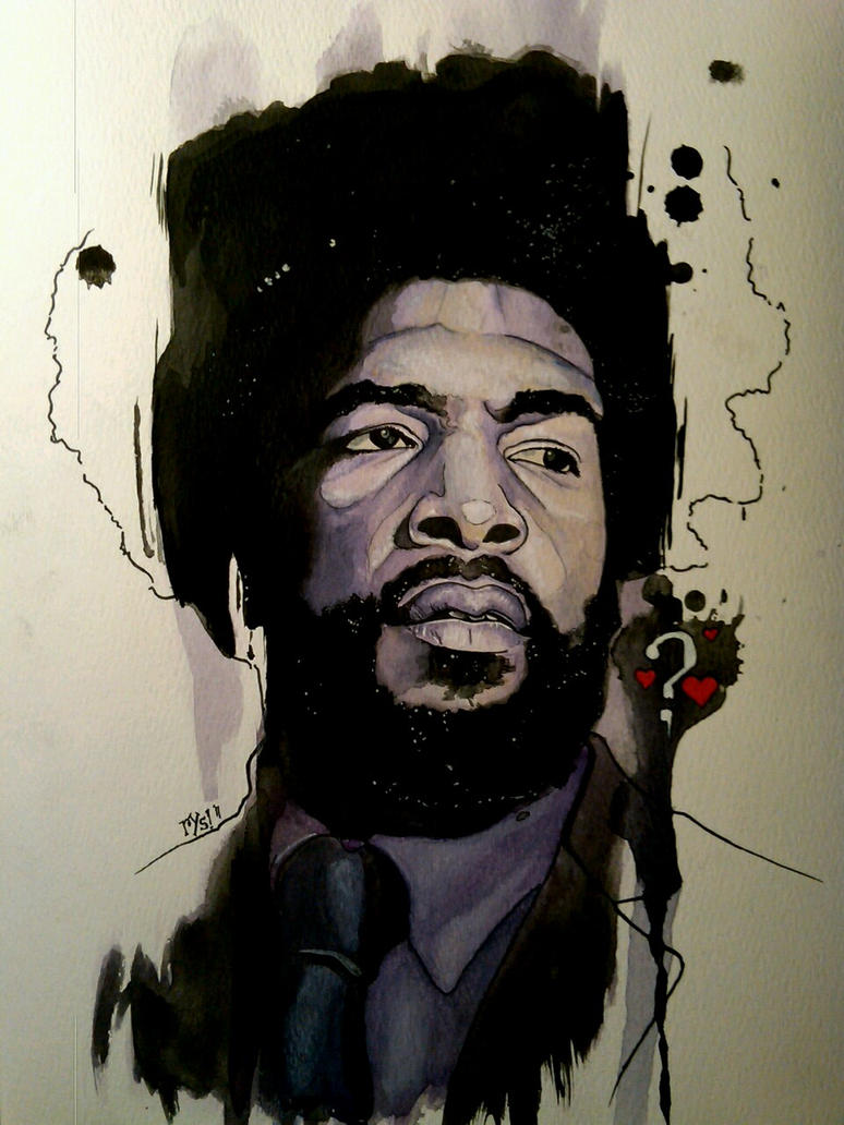Questlove by RYSillustrates