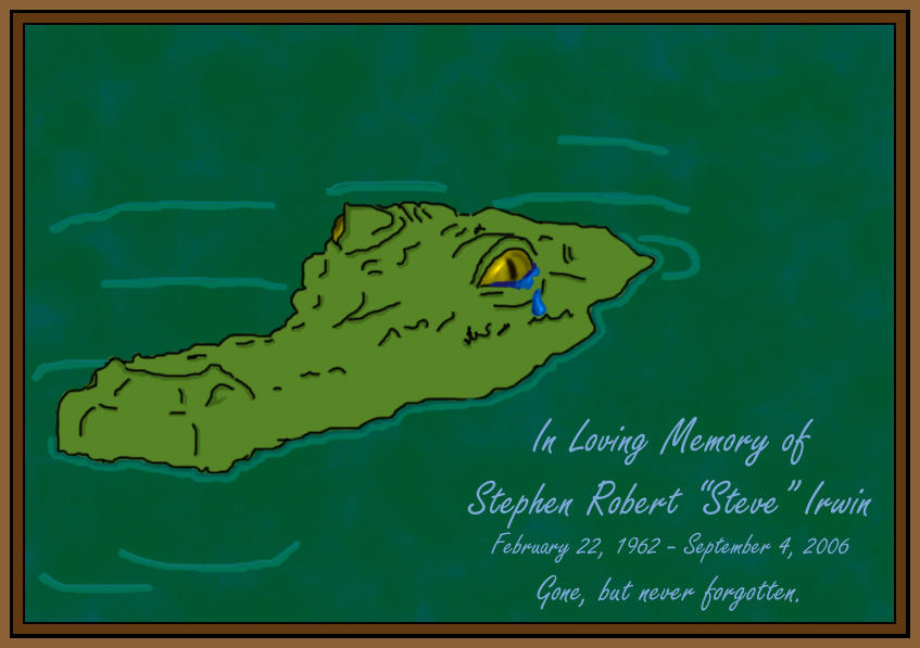 A Tribute to Steve Irwin by ladyhawk21