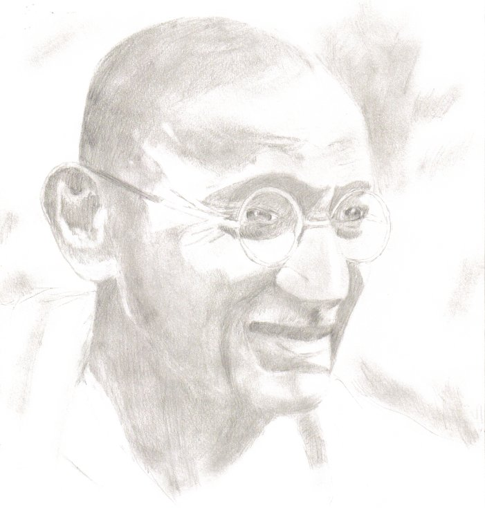 Gandhi by Fring