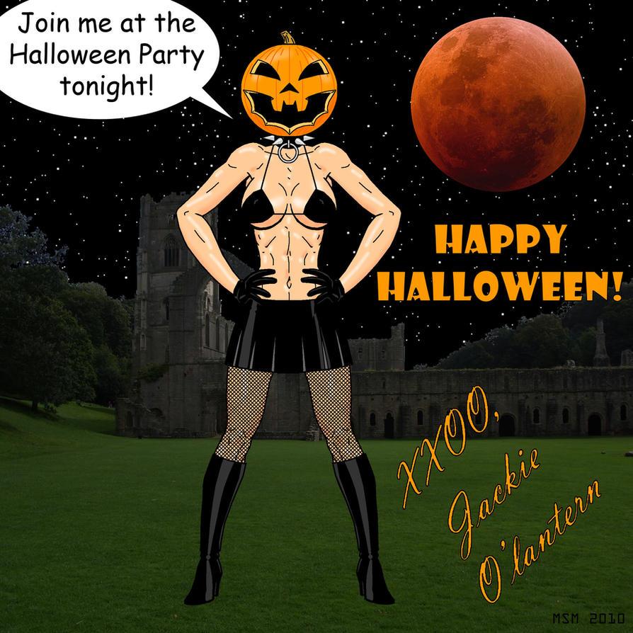 happy halloween night partyredspider2008 on deviantart