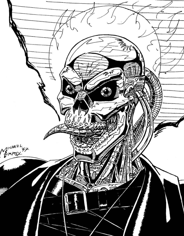 ghost rider 2099 by redspider2008 on deviantart