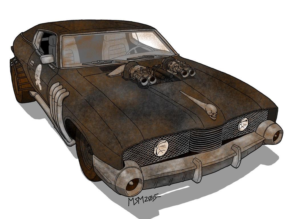 Post-Apocalyptic Ford Landau by RedSpider2008