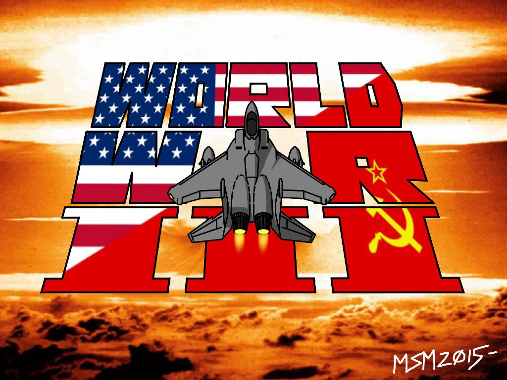 1980s World War III title design by RedSpider2008