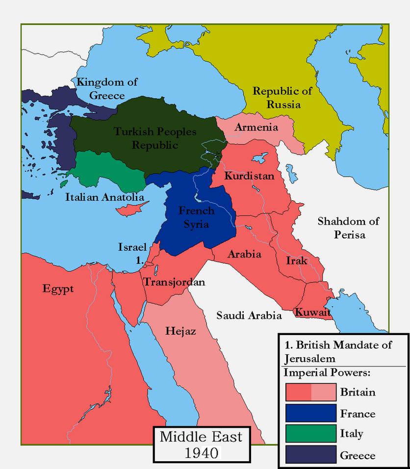 Alternate Middle East By Magnysovich On DeviantArt - Greece in the treaty of sevres