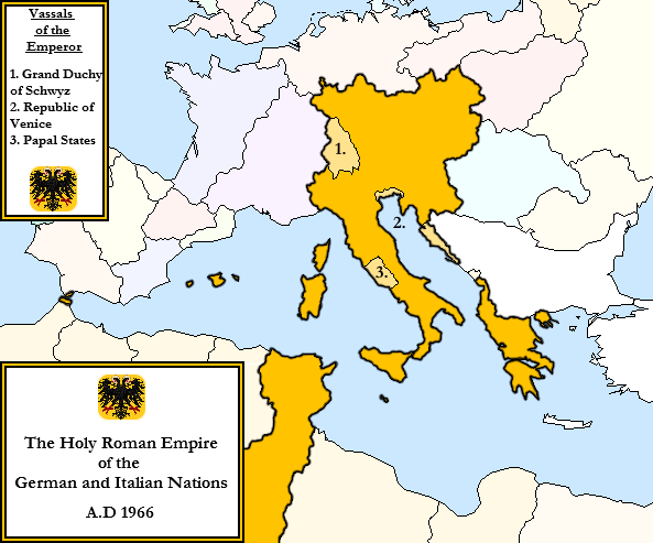 the holy roman empire of germany and italy by magnysovich