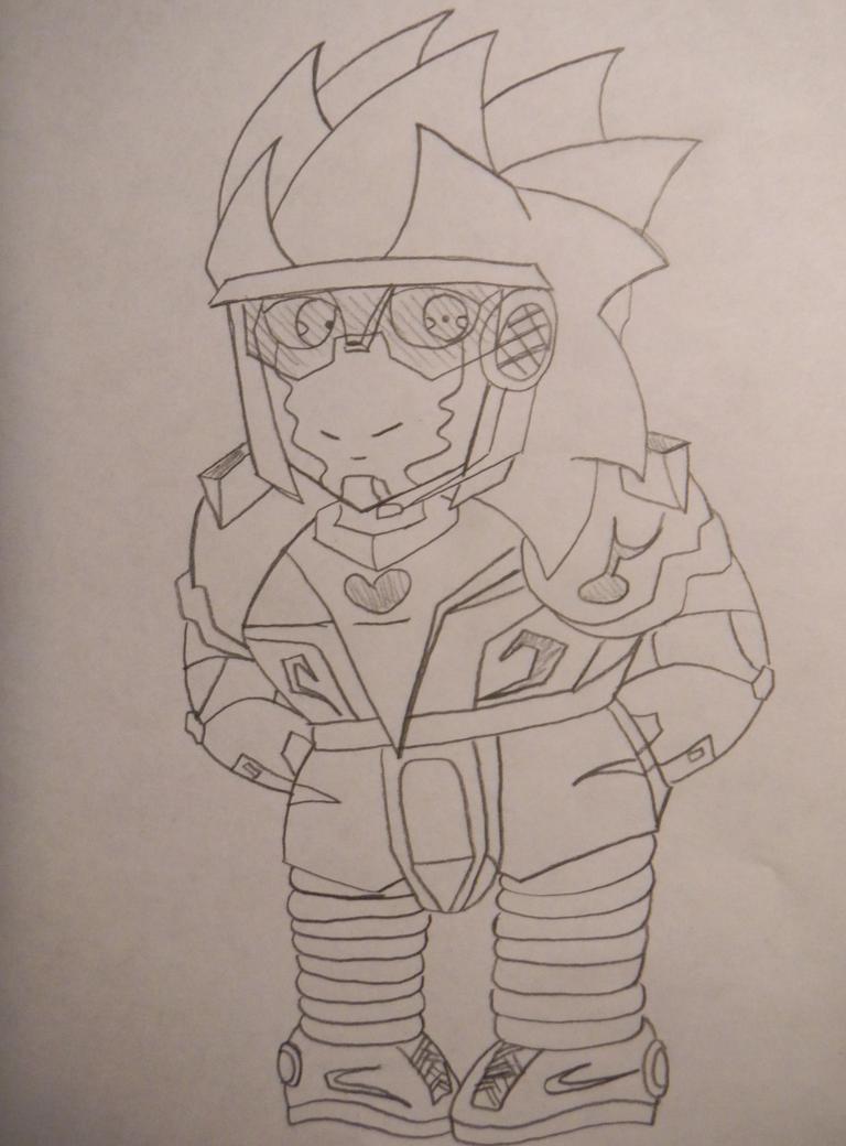 Sora Ichisada Redesign by flippy509