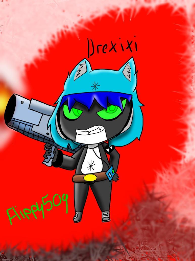 Art Trade/Drexixi by flippy509