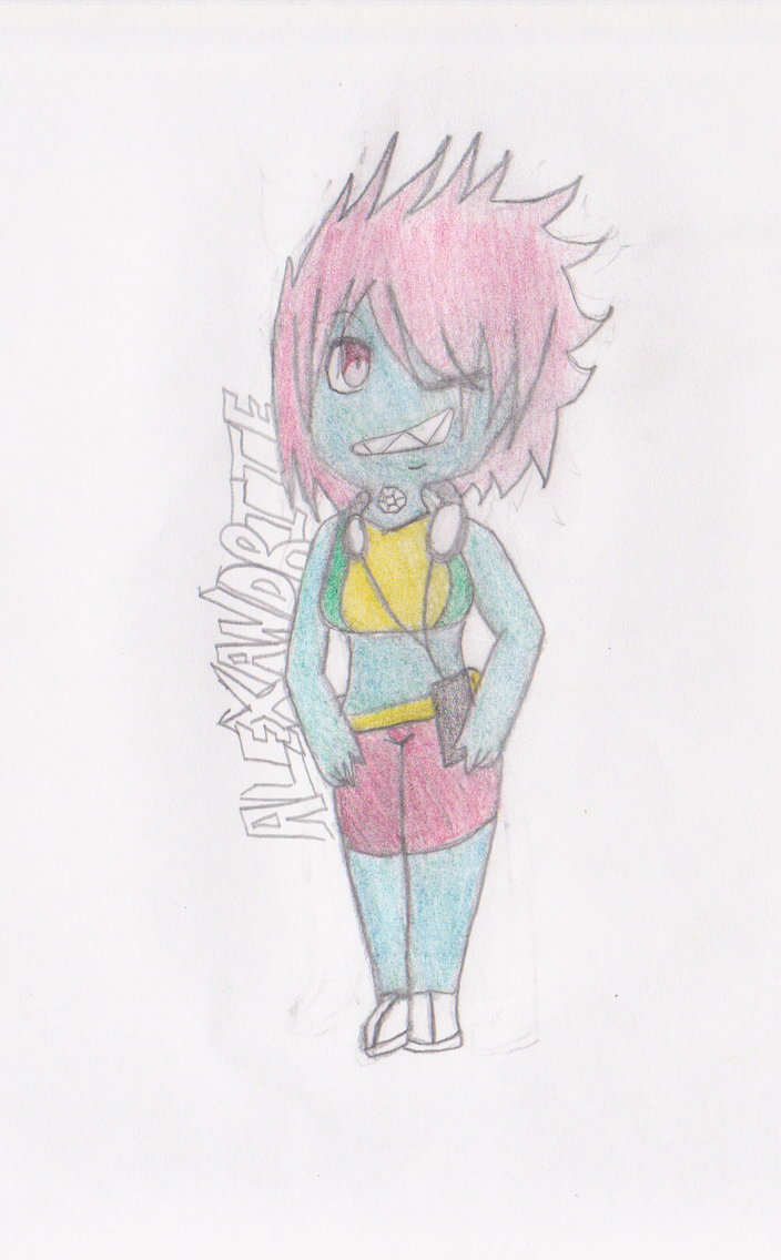 Gemsona Custom Adopt- Alexandrite by flippy509
