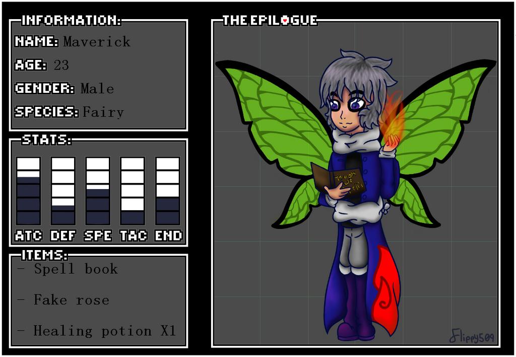 The-Epilogue Application: Maverick by flippy509