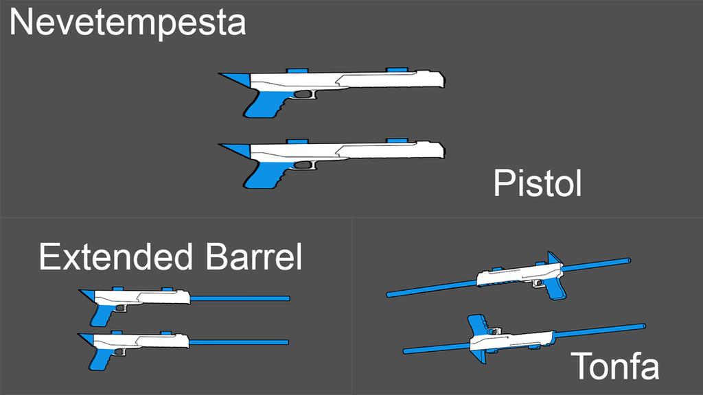BLAK Weapons: Nevetempesta (Remastered) by Accel-Phoenix