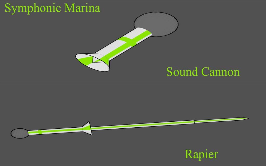 KAKI Weapons: Symphonic Marina by Accel-Phoenix