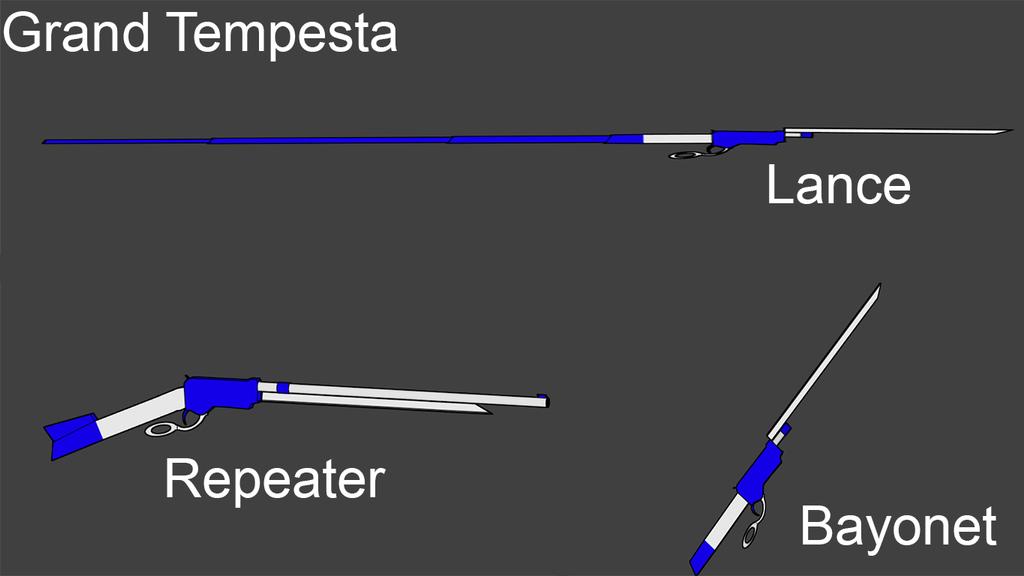 BLAK Weapons: Grand Tempesta by Accel-Phoenix