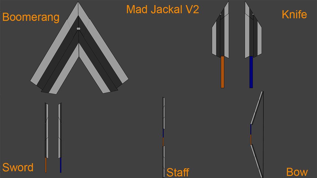BLAK Weapons: Mad Jackal (Version 2) by Accel-Phoenix