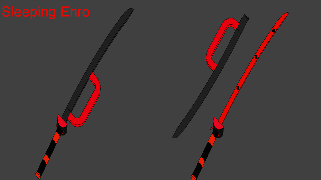 BLAK Weapons: Sleeping Enro (Remaster) by Accel-Phoenix