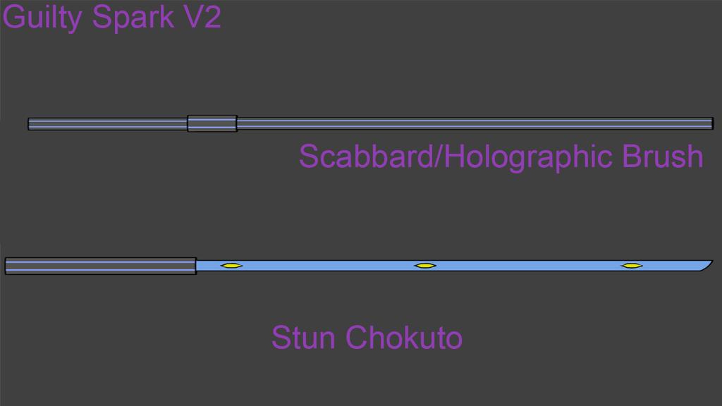 KAKI Weapons: Guilty Spark V2 by Accel-Phoenix