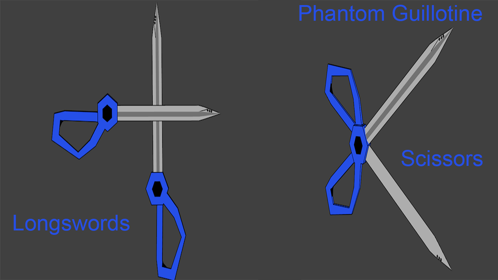 Snowhound Unit Weapons : Phantom Guillotine by Accel-Phoenix